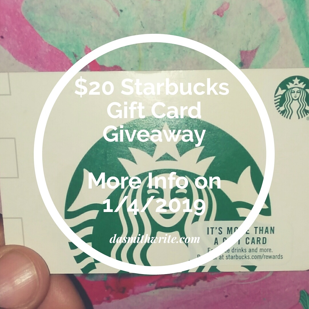 *One* Starbucks Gift Card Giveaway!