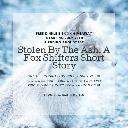 Limited Time Only* Free Urban Fantasy Short Story For Amazon